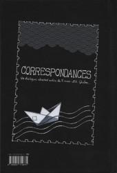 Verso de Correspondances (Lyon BD) - Correspondances