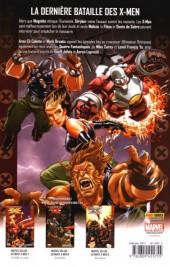 Verso de Ultimate X-Men (Marvel Deluxe) -10- Requiem