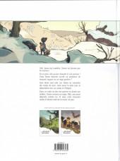 Verso de L'envolée sauvage -INT01a- Cycle 1 - Histoire complète