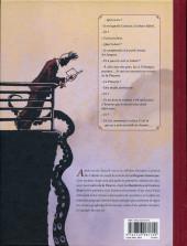 Verso de La malédiction de Gustave Babel
