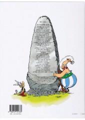 Verso de Astérix (Hachette) -1b2005- Astérix le Gaulois