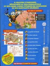 Verso de Mickey Parade Géant Hors-série / collector -8HS08- Donaldville le Guide