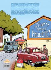 Verso de Jacques Gipar (Une aventure de) -INT01- Premières aventures