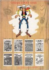 Verso de Lucky Luke -31a79- Tortillas pour les Daltons