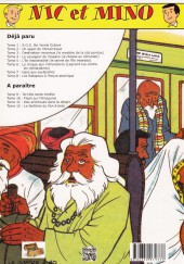 Verso de Nic et Mino (Le Coffre à BD) -7- Gare aux sauterelles