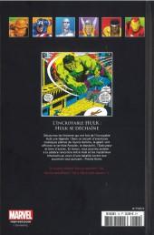 Verso de Marvel Comics - La collection (Hachette) -74XII- L'Incroyable Hulk - Hulk se Déchaîne