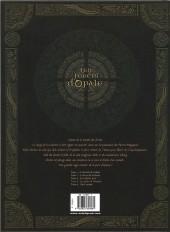 Verso de Les forêts d'Opale -409- Les geôles de nénuphe