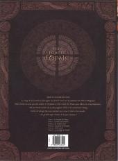 Verso de Les forêts d'Opale -509- Onze racines