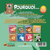Verso de Pourquoi... (Collection Pourquoi...) - Tom, L'Ours...