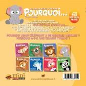 Verso de Pourquoi... (Collection Pourquoi...) - Adam, L'Éléphant...