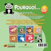 Verso de Pourquoi... (Collection Pourquoi...) - Lucas, Le Panda...