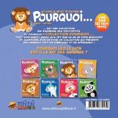 Verso de Pourquoi... (Collection Pourquoi...) - Léo, Le Lion...
