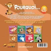 Verso de Pourquoi... (Collection Pourquoi...) - Chloé, La Girafe...