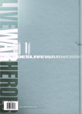 Verso de Live War Heroes