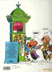 Verso de Achille Talon -30b03- Achille Talon a un gros nez Ah ! Ah ! Ah !