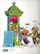 Verso de Achille Talon -38a00- Achille Talon contre docteur Chacal et Mister Bide !