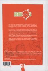 Verso de Héro(ïne)s : la représentation féminine en bande-dessinée - Hero(ïne)s la représentation féminine en bande dessinée