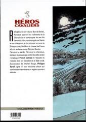 Verso de Les héros cavaliers -5a- Blanche fleur