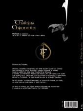 Verso de Thaléria Chronicles -1- L'ombre plane