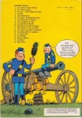 Verso de Les tuniques Bleues -5b82- Les déserteurs