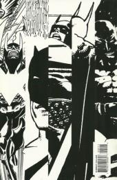 Verso de Batman Black and White (1996) -2- Black & White 2
