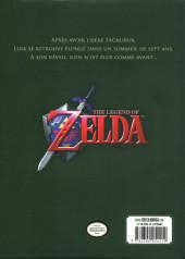 Verso de Legend of Zelda (The) -INT1- Ocarina of Time