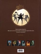 Verso de La guerre des mondes (Dobbs/Cifuentes) -1- La Guerre des mondes 1/2