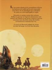 Verso de Les décastés d'Orion -1- Première partie
