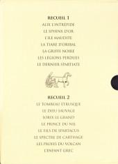 Verso de Alix -INT en Cof- Les Premières Aventures