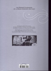 Verso de Les grands Classiques de la Bande Dessinée érotique - La Collection -1933- Candide caméra
