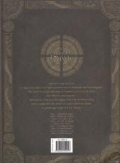 Verso de Les forêts d'Opale -INT02- Intégrale - Tome 4 à 6