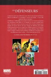 Verso de Marvel Comics : Le meilleur des Super-Héros - La collection (Hachette) -24- Les défenseurs
