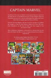 Verso de Marvel Comics : Le meilleur des Super-Héros - La collection (Hachette) -25- Captain marvel