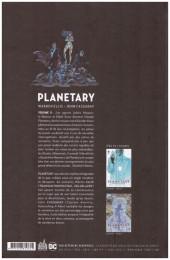Verso de Planetary (Urban comics) -2- Volume 2