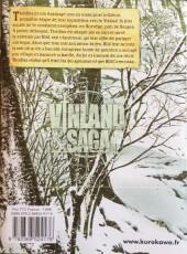 Verso de Vinland Saga -17- Tome 17