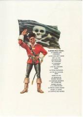 Verso de Barbe-Rouge -14a1977- Le Pirate sans Visage