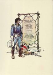 Verso de Blueberry -4c1975- Le cavalier perdu