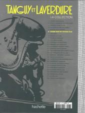 Verso de Tanguy et Laverdure - La Collection (Hachette) -6- Canon bleu ne répond plus