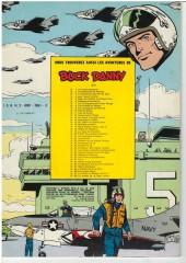 Verso de Buck Danny -24a74- Prototype FX-13