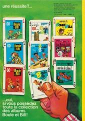Verso de Boule et Bill -7a74- Album N°7 des gags de Boule et Bill