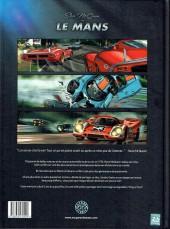 Verso de Steve McQueen in Le Mans - Tome 1