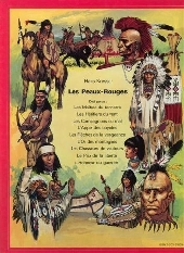 Verso de Les peaux-rouges -9- L'honneur du guerrier