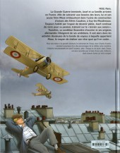Verso de L'aviateur -2- L'apprentissage