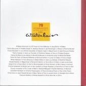 Verso de (AUT) Wasterlain - 70 hommages à Marc Wasterlain