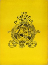 Verso de Bernard Lermite - Tome 1