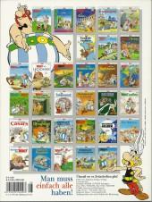 Verso de Astérix (en allemand) -8SP02- Asterix bei den Briten