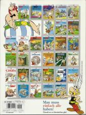 Verso de Astérix (en allemand) -1616- Asterix bei den Schweizern