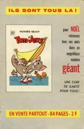 Verso de Tom et Jerry (Puis Tom & Jerry) (2e Série - Sage) -94- Panique fantômatique