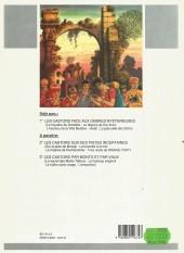 Verso de Tout Mitacq -1- Les castors - face aux ombres mystérieuses