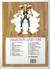 Verso de Lucky Luke -9Ind- Des rails sur la prairie